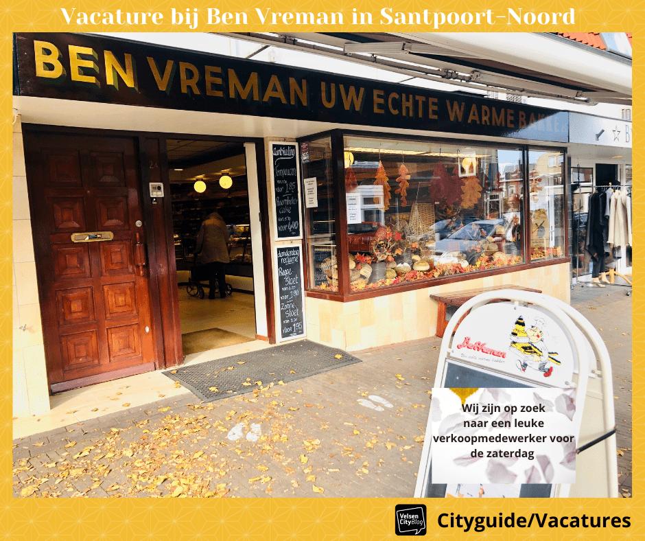 VelsenCityBlog Cityguide Vacatures Ben Vreman